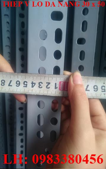 Thép v lỗ đa năng 30x50 chuẩn quy cách